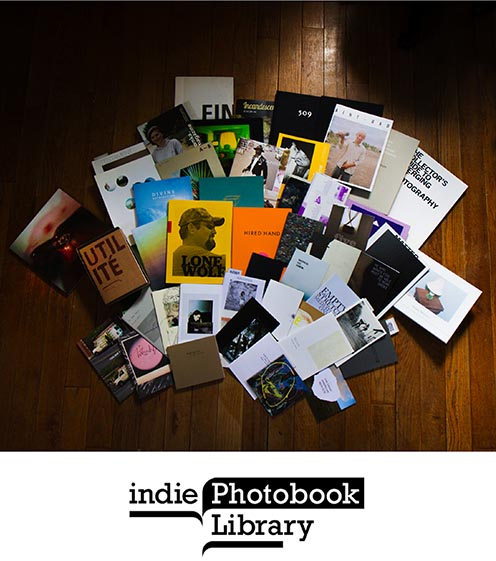 Brad Carlile at The Philadelphia Photo Arts Center (PPAC) Book Fair - iPL (indie Photobook Library)