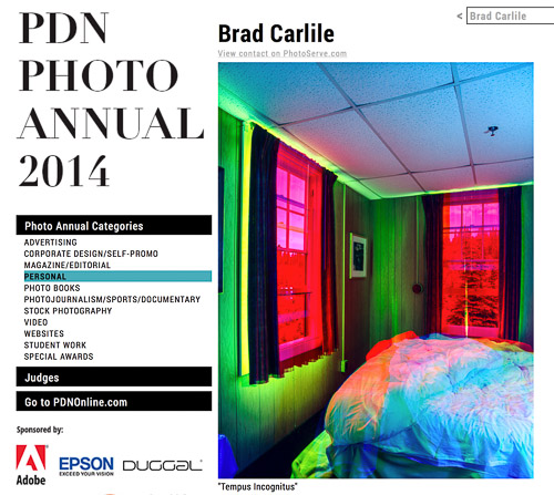 pdn photo annual 2014 Brad Carlile